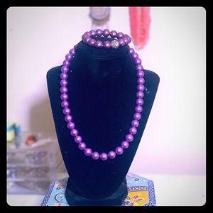 Purple pearl 3 piece set 😍💜